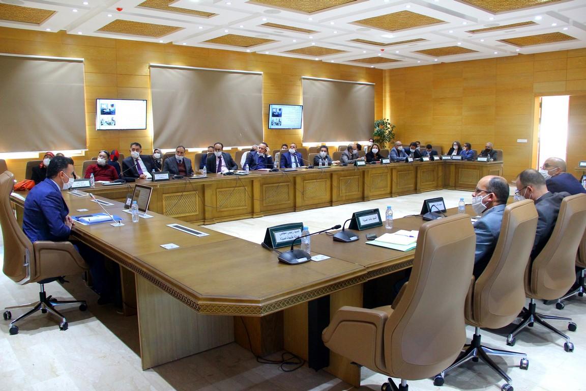 الاجتماع الأول للجنة الإقليمية للتنمية البشرية برسم سنة 2021