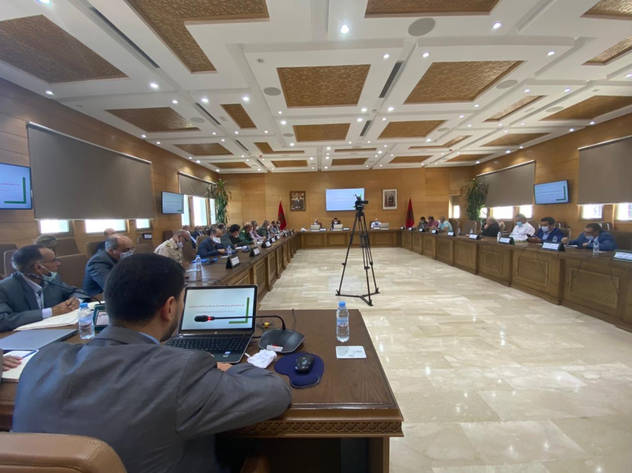 انعقاد الاجتماع الثاني للجنة الإقليمية للتنمية البشرية لعمالة طنجة-أصيلة برسم سنة 2021